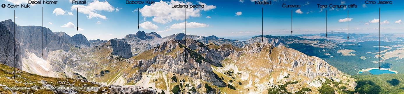 View on Durmitor mountain range. Copyright by www.istankov.com